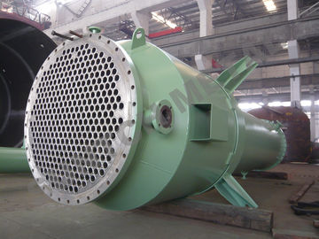 الصين Shell And Tube Heat Exchangers Titanium Gr.7 clad SA266 Generation Reboiler موزع