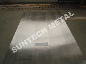 الصين Nickel Alloy Clad Plate for Heaters Explosion Clad N04400 Monel400 موزع