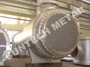 الصين Zirconium 60702 Floating Type Heat Exchanger , Floating Head Cooler موزع